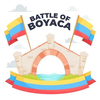 コロンビアのバタラデボヤカのイラスト