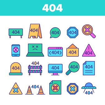 Color 404 http error
