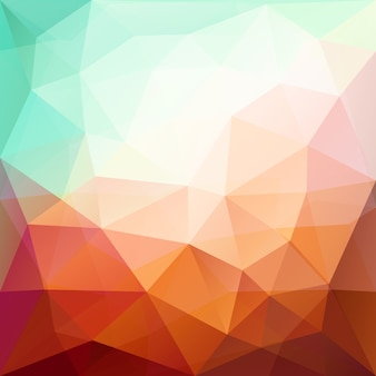 Color abstract geometric banner with triangle shapes. low poly background