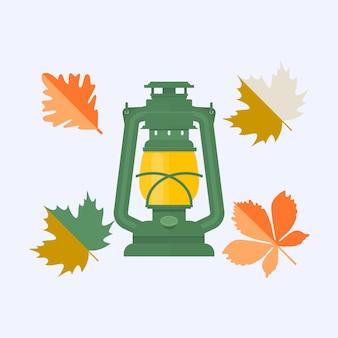Цветные осенние листья
