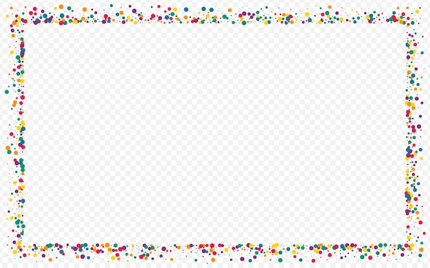 Color circle fallingfestive transparent background. vector splash wallpaper. effect confetti illustration. orange round top texture.