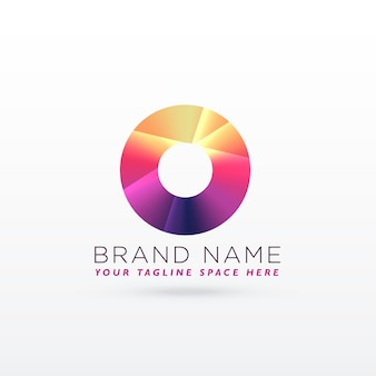 Color circle logo