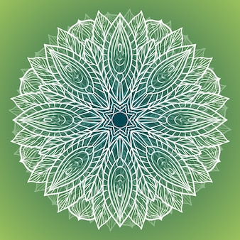 Color circular pattern. round kaleidoscope