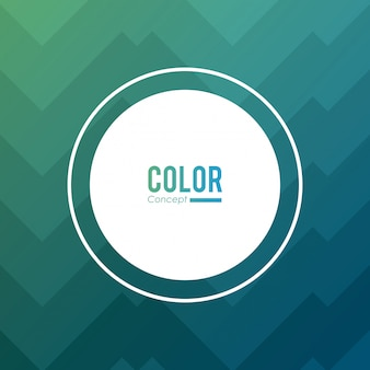 Color concept background frame