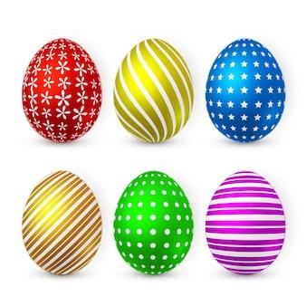 Цветное пасхальное яйцо
