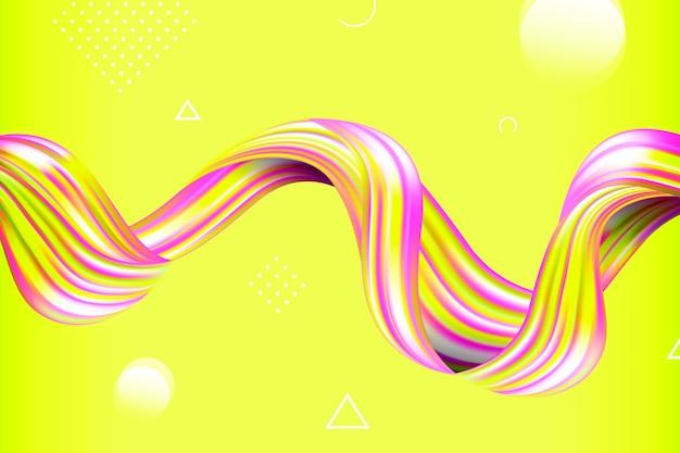 Color flow background concept