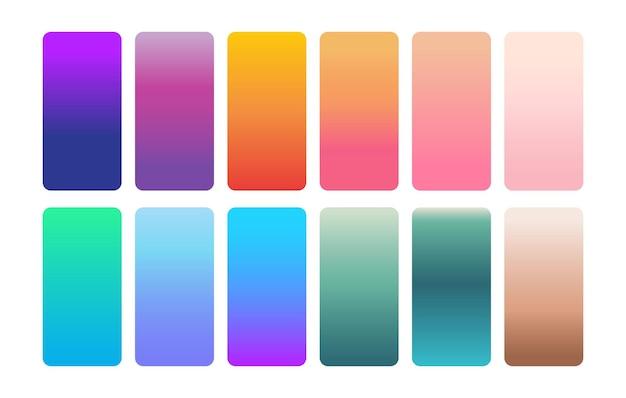 色のグラデーションの背景ウェブサイトのバナーパンフレットポスターの招待状の色のグラデーション