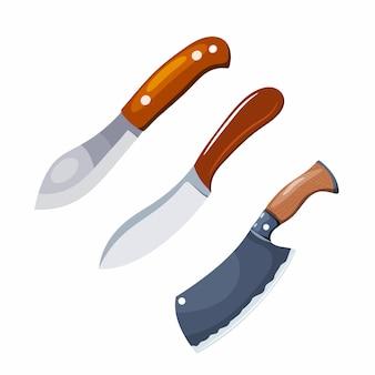 Цветное изображение ножа.