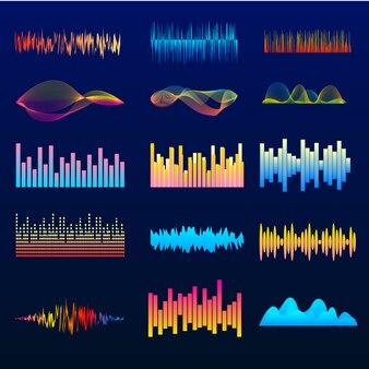 カラーミュージックウェーブ、波形パルス
