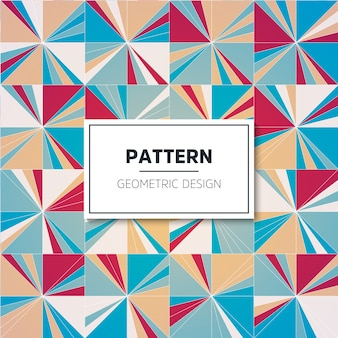 Color pattern. Geometric background