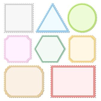 Цветные почтовые марки