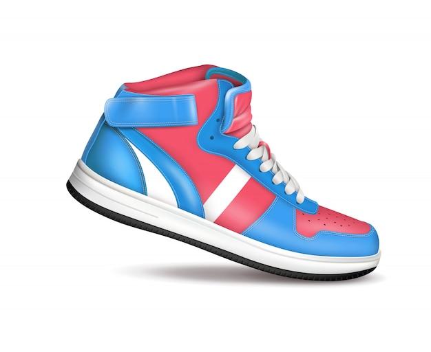 Цветные спортивные кроссовки
