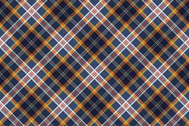 Color tartan fabric texture seamless pattern