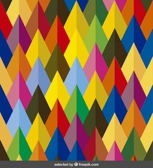 Frecce colorate motivo
