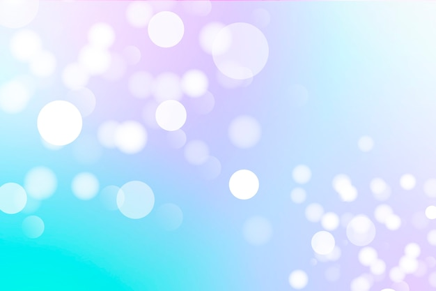 Colored bokeh wallpaper with light