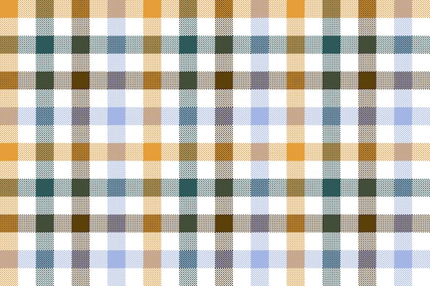 Colored check plaid seamless pattern