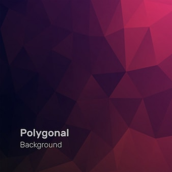 Colored geometric polygonal background