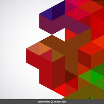 Colored geometry abstraction