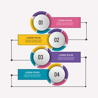 Flowchart vectors photos and psd files free download colored infographic diagram with circles ccuart Choice Image