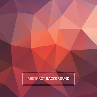 Colored polygonal background