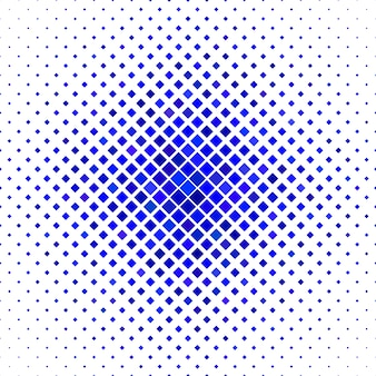 Colored square pattern background - geometric vector illustration from diagonal squares in blue tones