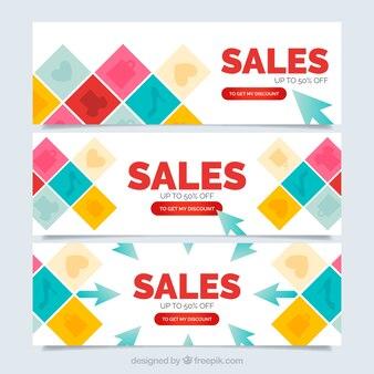 Цветные баннеры продажа площадей