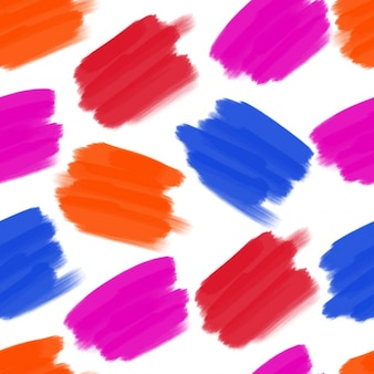 Colored stains pattern