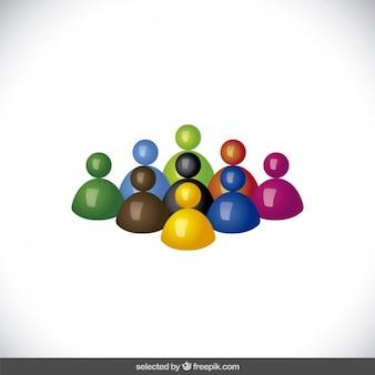 Colorful avatar 3d