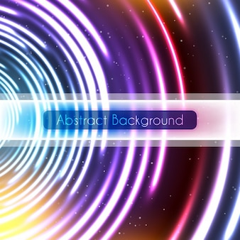 Colorful abstrac background with circles