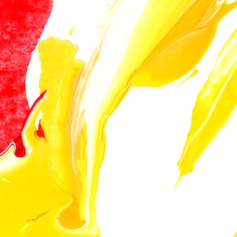 Красочный абстрактный акриловый мазок текстурированный фон