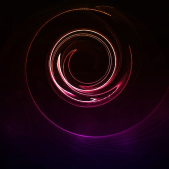 Colorful abstract background, futuristic wavy illustration, art concept