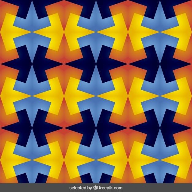 Colorful sfondo astratto in stile caleidoscopio