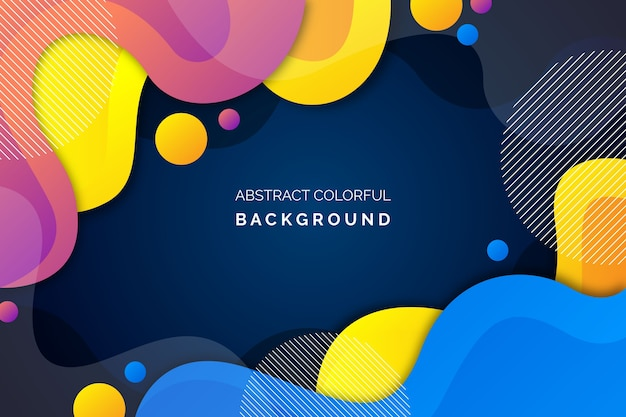 Colorful abstract background style