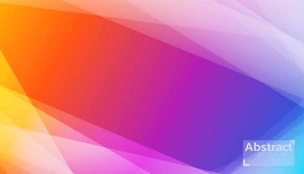 カラフルな抽象的な背景の日の出