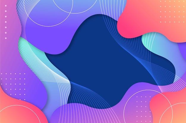 Цветной абстрактный фон темы