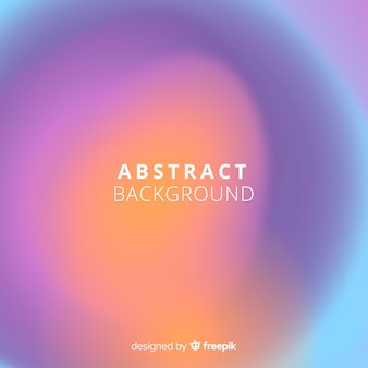 Colorful abstract background with gradient style