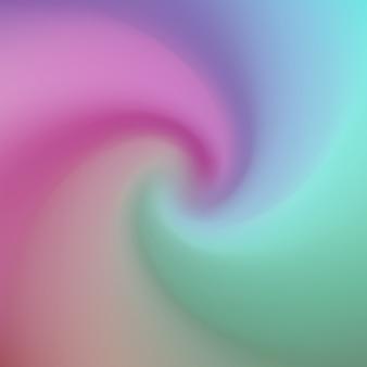 Colorful sfondo astratto con spirale