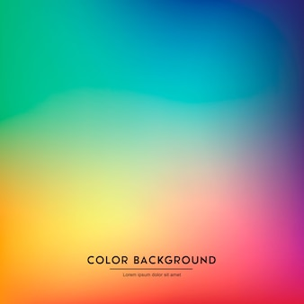 Colorful abstract blurred gradient mesh