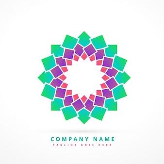 Colorful abstract company logo
