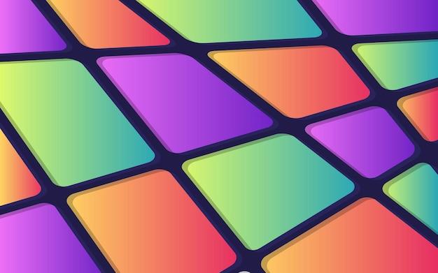 Красочный абстрактный геометрический фон