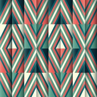 カラフルな抽象的な幾何学的な線パターンの背景。