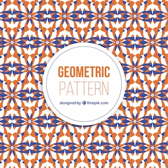 Modello geometrico astratto colorato