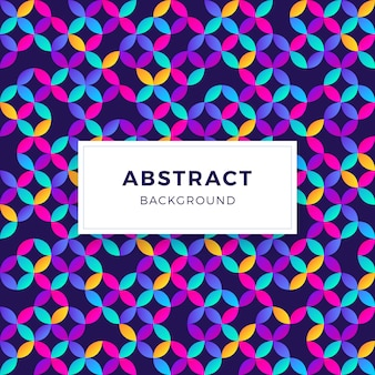 Colorful Abstract Gradient Geometric Shapes Background