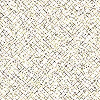 Colorful abstract irregular rectangular mesh pattern background