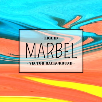 Colorful abstract liquid marbel