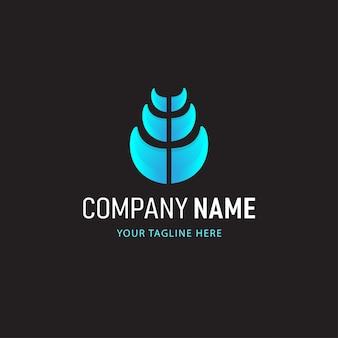 Красочный абстрактный логотип