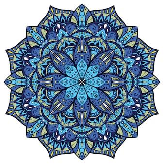 Colorful abstract mandala.