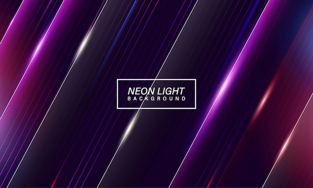Colorful abstract neon light gaming background