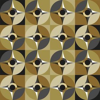 カラフルな抽象的な神聖幾何学パターンの背景。