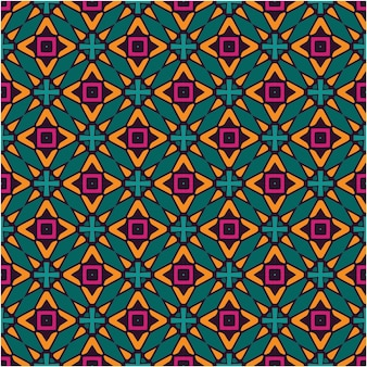 Colorful abstract seamless pattern background